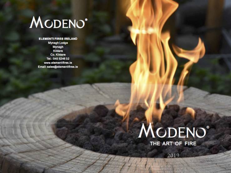 Modeno 2019 brochure cover