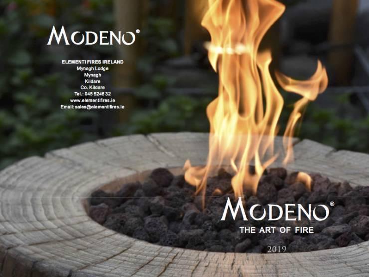 Modeno 2019 brochure cover