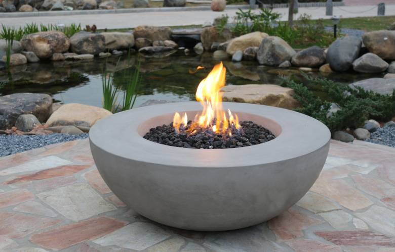 Lunar Bowl Fire Table
