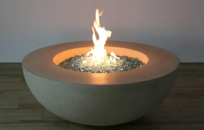Lunar Bowl Fire Table