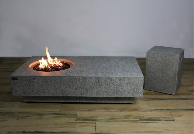 Metropolis table gas fire
