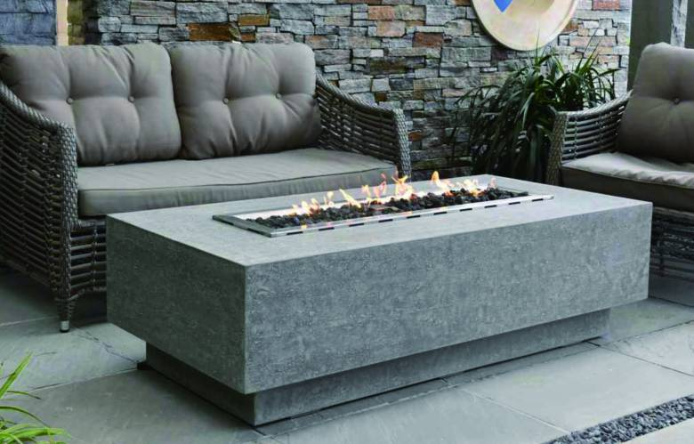 Kingsale Fire Table