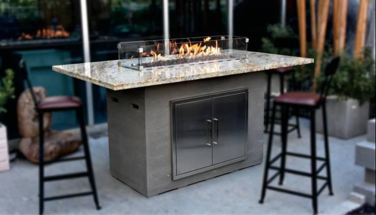 OFG223 Himalaya bar table