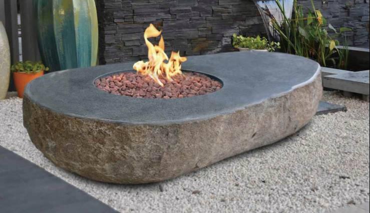 OFS014 Easton granite boulder