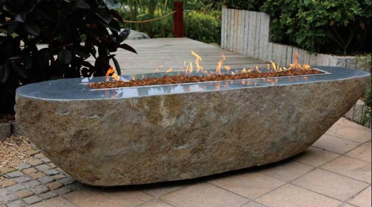 OFS005 Bethlehem granite boulder