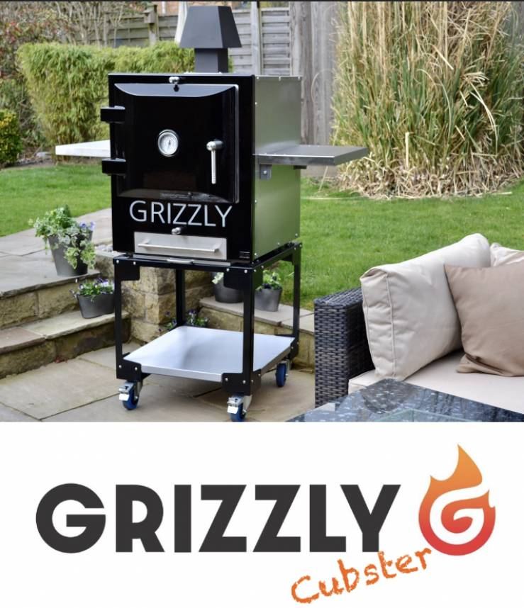 The Grizzly Cubster outdoor oven